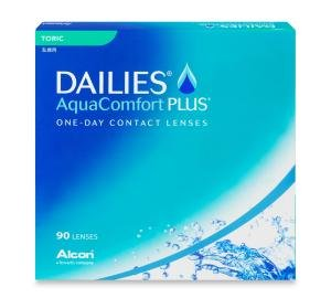 Dailies AquaComfort Plus Toric 90 PACK Kontaktlinse