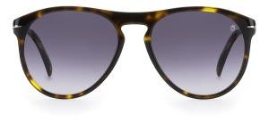 DAVID BECKHAM DB 1008/S 086 Solbrille Multi med Grå / Sort glass