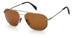 DAVID BECKHAM DB 1041/S solbrille med brune glass
